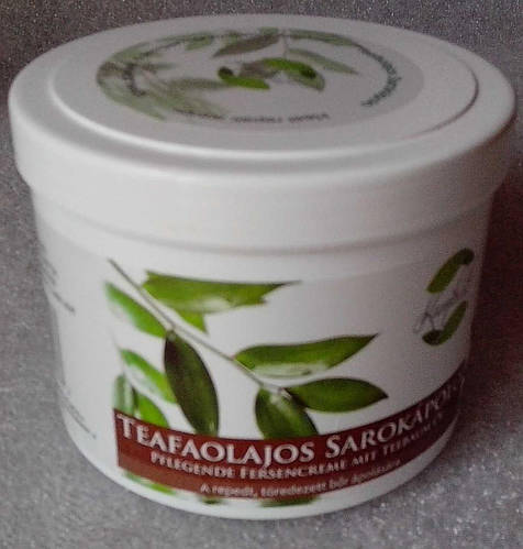 Крем для ног и пят с маслом чайного дерева 500мл (Венгрия).