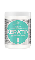 Крем-маска для волосся з кератином і з екстрактом молочного протеїну Kallos Keratin