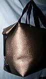 Женская универсальная серебристая сумка Ferrari из искусственной кожи 39*24 см, фото 4