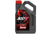 MOTUL Двигательное масло для мотоспорта Motul 836141 300V 4T FACTORY LINE ROAD RACING SAE 10W40 (4L)