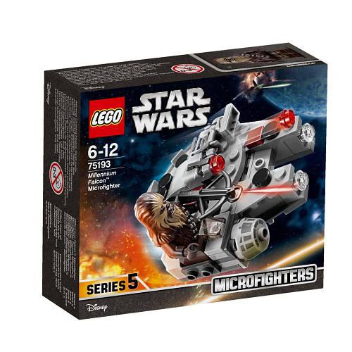 Лего Мікровинищувач: «Сокіл Тисячоліття» 75193