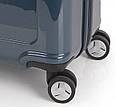 Чемодан большой Gabol Slat 924896 пластик синий 89 л, 4 колеса, фото 2