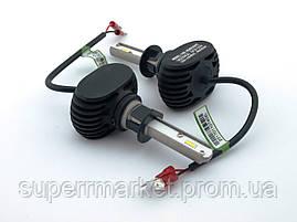 S1 LED H1 лампы автомобильные Headlight Car Lamp 8000lm 6500K 50W DC9-32V Headlamp Chips, фото 2