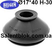 Пыльник шаровой опоры, рулевого наконечника 17*40* h-30 универсальный (МАСЛОСТОЙКИЙ), фото 1