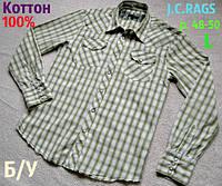 Классическая рубашка J.C.RАGS c длинным рукавом