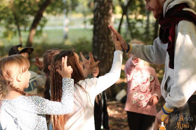 Фото детские квесты в Киеве склянка мрий
