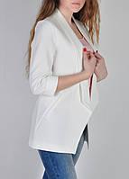 Пиджак женский стильный белый