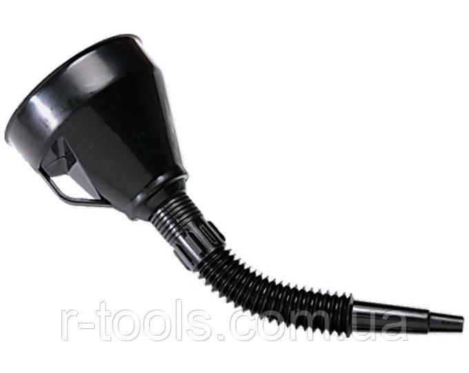 Воронка пластмассовая D 160 мм гибкий наконечник для горюче-смазочных материалов SPARTA 537205