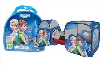 Дитячий Намет SG7015 FZ-B (3312) Frozen - тунель, Розмір в розкладеному вигляді: 270*92*92 див.
