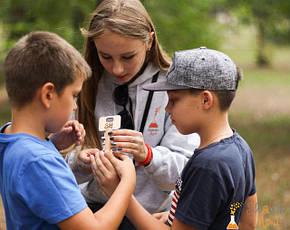 Как проходит квест для детей в Киеве от Склянка мрій?