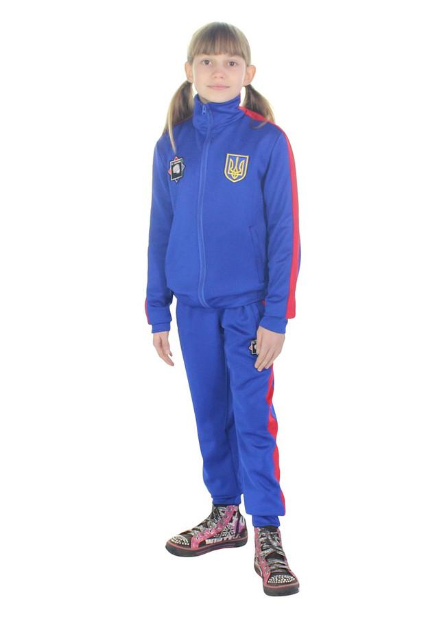 спортивный костюм на заказ Ударник цвет электрик - фото teens.ua
