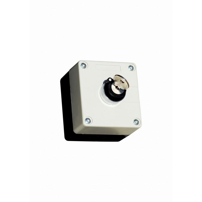 Пост кнопочный командоаппаратный 3-х позиционный с ключом