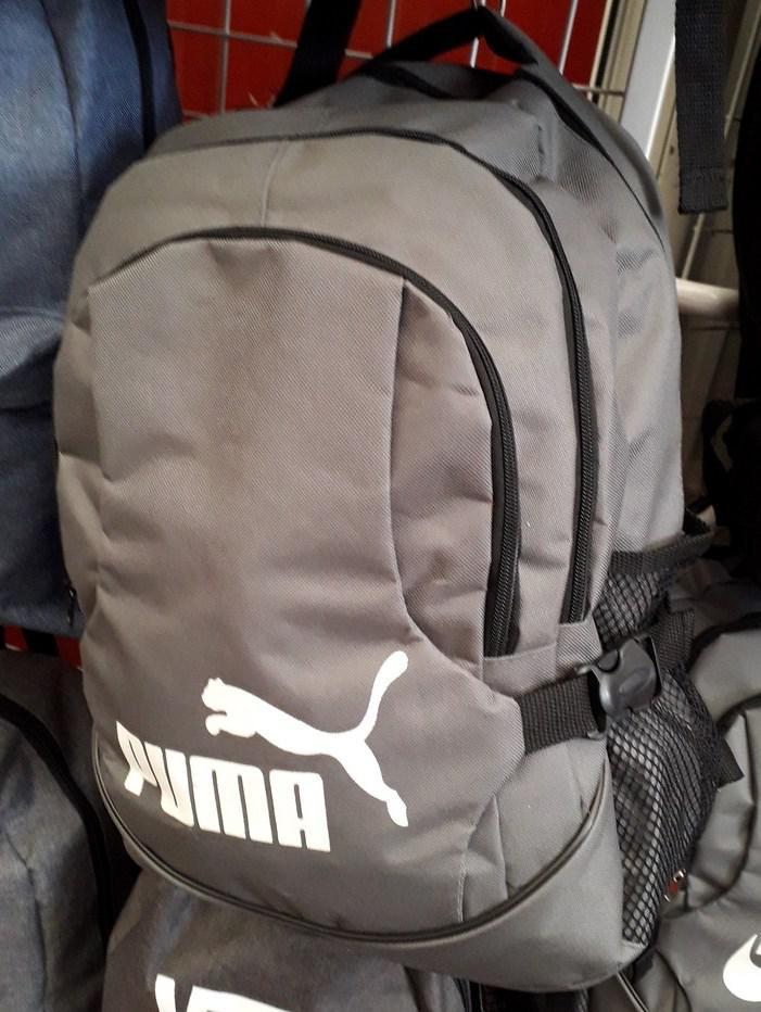 8d47a6b51840 Рюкзак Puma 115336 объем 30 л серый на три отдела спортивный школьный 30 х  44 х