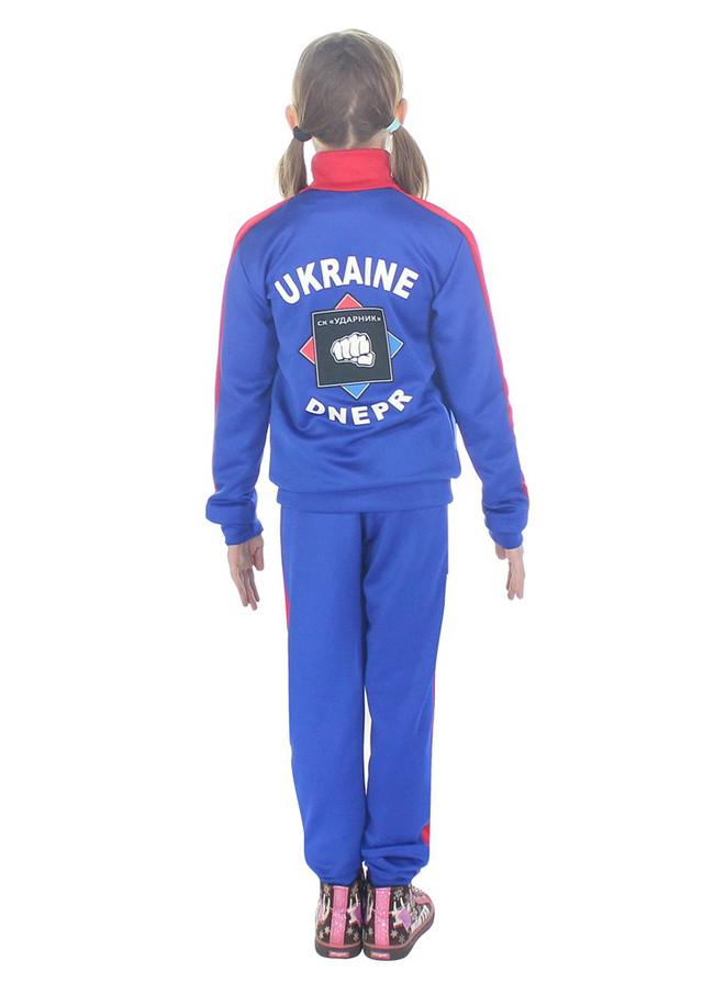 спортивный костюм на заказ Ударник спина - фото teens.ua
