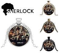 Кулон Sherlock Holmes Шерлок Холмс играет на скрипке