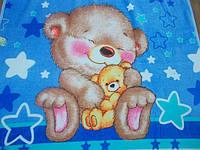Одеялко для новорожденных с вельсофта.