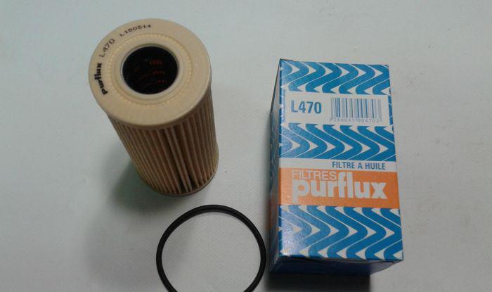 Масляный фильтр Purflux L470 для Nissan, Opel, Renault