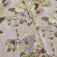 Ткань для штор Irati бархатная роза