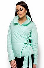 Женская модная куртка Флер ментол, р.42-48, фото 2