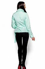 Женская модная куртка Флер ментол, р.42-48, фото 3