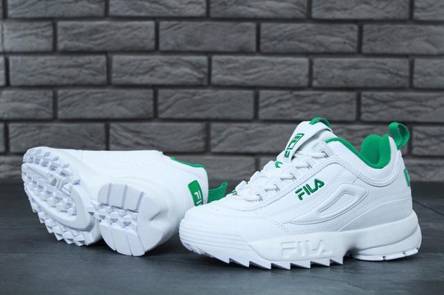 Fila Disruptor 2 White Green
