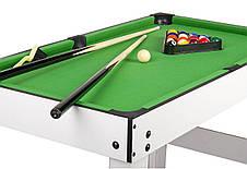 Игровой стол Super Fun 4 В 1 - Аэрохоккей, Настольный футбол, Мини бильярд, фото 3