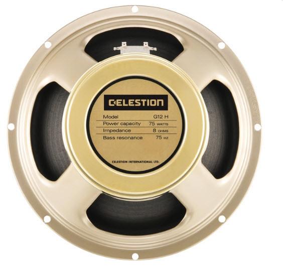 """Гитарный динамик 12"""" для электрогитар CELESTION G12H-75 CREAMBACK"""