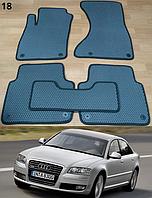 Коврики на Audi A8 '03-10. Автоковрики EVA, фото 1