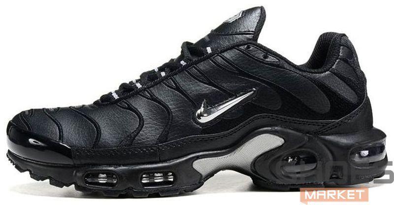 5bd9aa60 Мужские Кроссовки Nike Air Max TN Plus Black And Silver — в ...