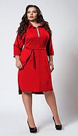 """Платье """"Вера"""" размеры 52,54,56 красное"""