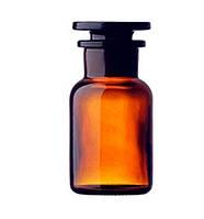 Бутыль для реактивов с притертой пробкой темное стекло