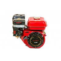 Двигатель бензиновый WEIMA BT170F-S2Р (шпонка, вал 20 мм, шкив на 2 р., 76 мм) 7.0 л.с.