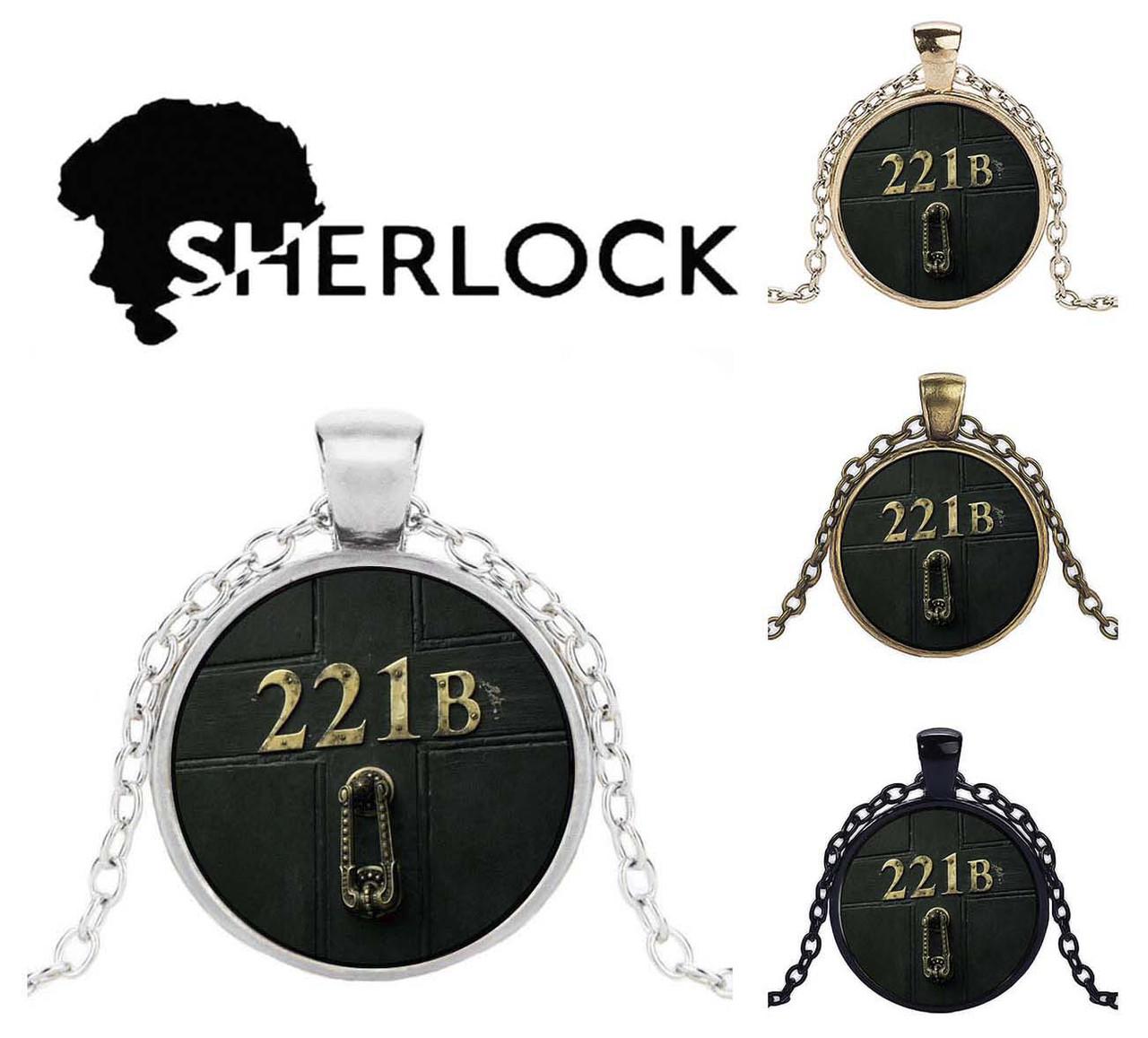 Кулон Sherlock Holmes Шерлок Холмс