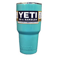Чашка YETI Rambler Tumbler 30 OZ Голубая