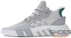 Мужские кроссовки Adidas EQT Basketball Adv Grey One Sub Green CQ2995, Адидас ЕКТ