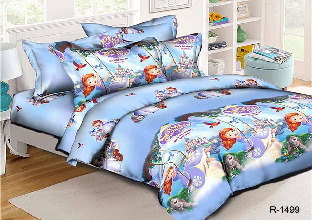 Ткань для постельного белья Ранфорс R1499 (60м), фото 2