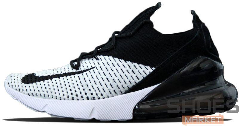 Мужские кроссовки Nike Air Max 270 Black/White, Найк Аир Макс 270