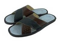 Тапочки мужские кожаные TapMal 7502-1, фото 1