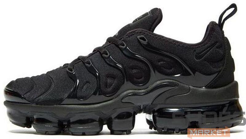 3bda3aca Мужские Кроссовки Nike Air Vapormax Plus (Black / Black — Dark Grey ...