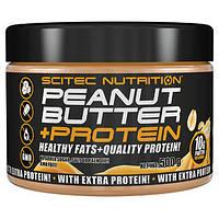 Peanut Butter + Protein Scitec Nutrition 500 гр.,арахисовая паста,в Виннице,в Украине