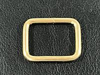 Перетяжка Рамка металлическая цвет золото 33х25м