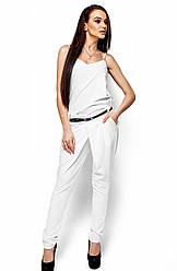 Женские белые брюки, р.42-48