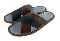 Тапочки мужские кожаные TapMal 7502-2, фото 1