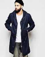 Демисезонная мужская куртка парка цвета нави
