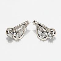 Серебряные серьги 1110629