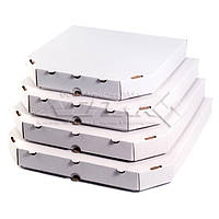 Коробки для пиццы белые
