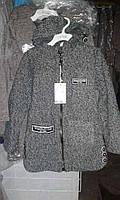 Демисезонное детское пальто для девочки подростковое