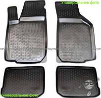 Коврики резиновые на Fiat Doblo 2010- L.Locker L.Locker