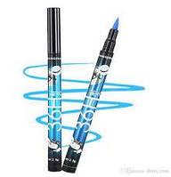 Подводка-фломастер водостойкая YANQINA Precision liquid eye liner 36H - голубая, фото 1