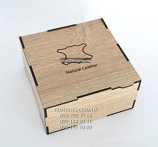 Подарочная деревянная коробка №1